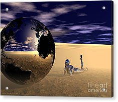 Dreaming Of Other Worlds Acrylic Print
