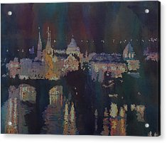 Dreaming Of Prague Acrylic Print by Jenny Armitage