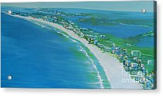 Dreaming Of Siesta Key Acrylic Print
