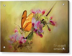 Dreaming Of Spring Acrylic Print by Eva Lechner