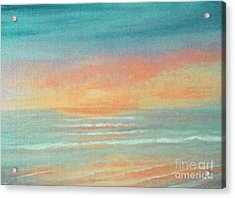 Dreaming Of Summer Acrylic Print by Holly Martinson