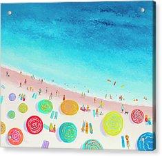 Dreaming Of Sun, Sand And Sea Acrylic Print