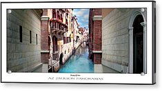 Dreaming Of Venice Poster Print Acrylic Print