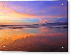 Dreaming Of You Acrylic Print by Daren  Le