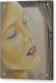 Dreaming Acrylic Print by Rajesh Chopra