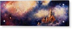 Acrylic Print featuring the painting Dreaming Sedona by Marina Petro