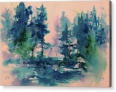 Dreaming Acrylic Print by Sharon K Wilson