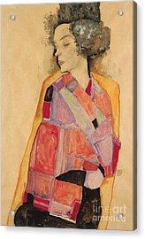 Dreaming Woman Acrylic Print