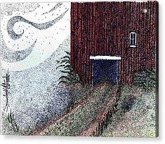 Dreamland Opens Here... Acrylic Print by Saundra Lee York