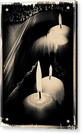 Dreams And Candlelight Acrylic Print