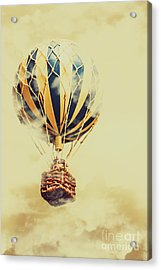 Dreams And Clouds Acrylic Print by Jorgo Photography - Wall Art Gallery