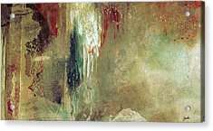 Dreams Come True - Earth Tone Art - Contemporary Pastel Color Abstract Painting Acrylic Print