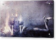 Dreams Of A Scorpion Heart Acrylic Print
