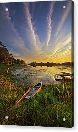 Dreams Of Dusk Acrylic Print by Phil Koch