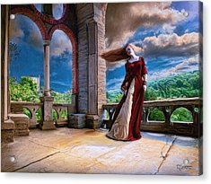 Acrylic Print featuring the painting Dreams Of Heaven by Dave Luebbert