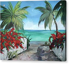 Dreams Of St. John Acrylic Print