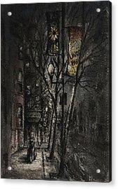 Dreams On A Walk Acrylic Print by Rachel Christine Nowicki