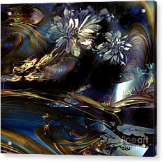 Dreamscape Acrylic Print by Doris Wood