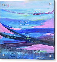 Acrylic Print featuring the painting Dreamscape by Irene Hurdle