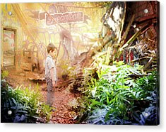 Acrylic Print featuring the photograph Dreamteam by Geoffrey Lewis