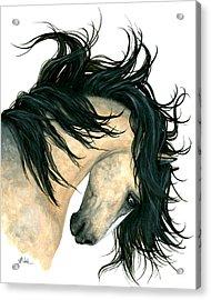 Dreamwalker Buckskin Horse Acrylic Print by AmyLyn Bihrle