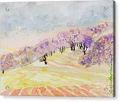 Dreamwood Acrylic Print by Lucinda  Hansen