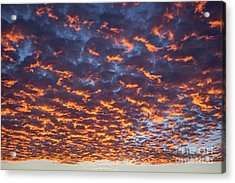 Dreamy Clouds Acrylic Print