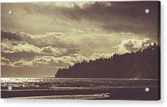 Dreamy Coastline Acrylic Print