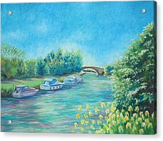 Acrylic Print featuring the painting Dreamy Days by Elizabeth Lock