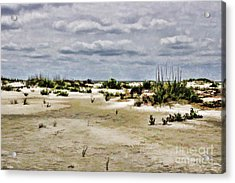 Dreamy Sand Dunes Acrylic Print