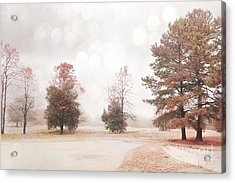 Dreamy Ethereal Serene Peaceful Nature Trees Landscape Acrylic Print