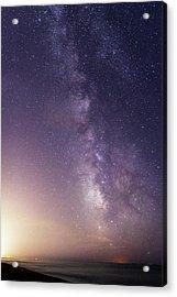 Dreamy Milky Way Acrylic Print