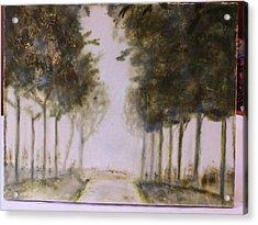 Dreamy Walk Acrylic Print by Karla Phlypo-Price