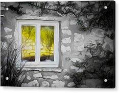 Dreamy Window Acrylic Print