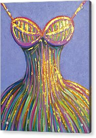 Dress For Cinderella Acrylic Print by Beryllium Canvas