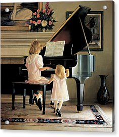 Dress Rehearsal Acrylic Print by Greg Olsen