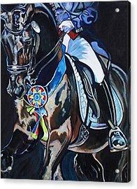 Dressage Stallion Acrylic Print