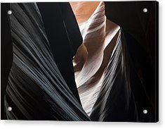 Dressed In Black Acrylic Print by Mike Irwin