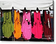 Dresses In The Sunlight Acrylic Print