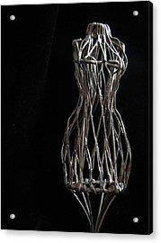 Dressmaker Form Acrylic Print by Lindie Racz