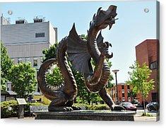 Drexel University Dragon - Philadelphia Pa Acrylic Print