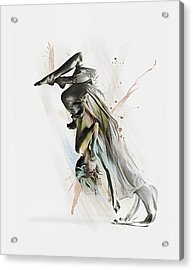 Drift Contemporary Dance Two Acrylic Print