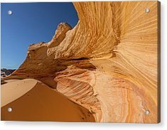 Drifted Sand In An Alcove Acrylic Print by Tim Grams