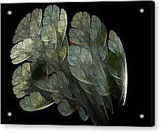 Acrylic Print featuring the digital art Drifters by Richard Ortolano