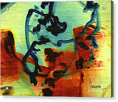 Drifting Acrylic Print