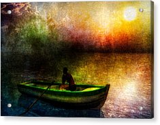 Drifting Into The Light Acrylic Print by Bob Orsillo