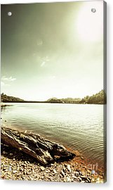 Driftwood Lakes Acrylic Print
