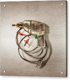 Drill Motor, Green Trigger Acrylic Print