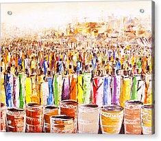Drink Festival Acrylic Print