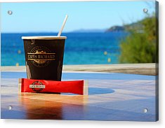 Acrylic Print featuring the photograph Drink It In by Richard Patmore